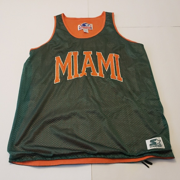 new style da6fa 90c0c Miami Hurricanes Basketball Jersey Extra Large